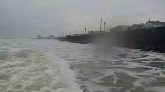 Hurricanetrack.com Mark Sudduth Storm Surge Cam: Brigantine, NJ Hermine (2016)