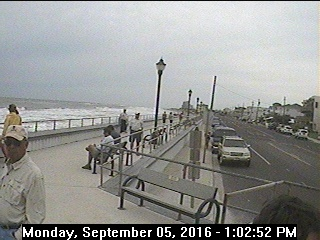 Hurricanetrack.com Mark Sudduth Tower Cam, NJ Hermine (2016)