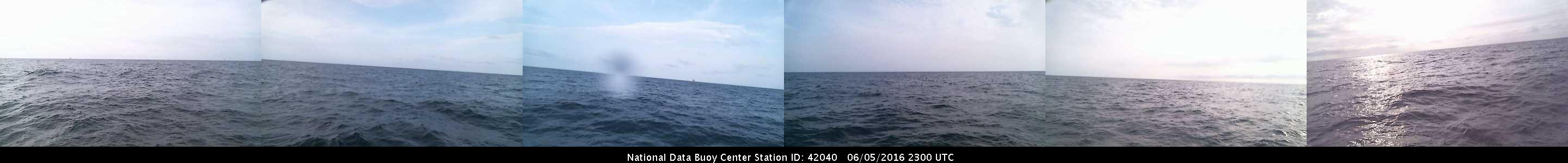 Buoy Camera off Yucaan for 93L (June 2016) 120 NM ESE of Cozumel, MX