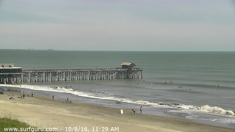 SurfGuru Cocoa Beach Pier Camera (Matthew 2016)