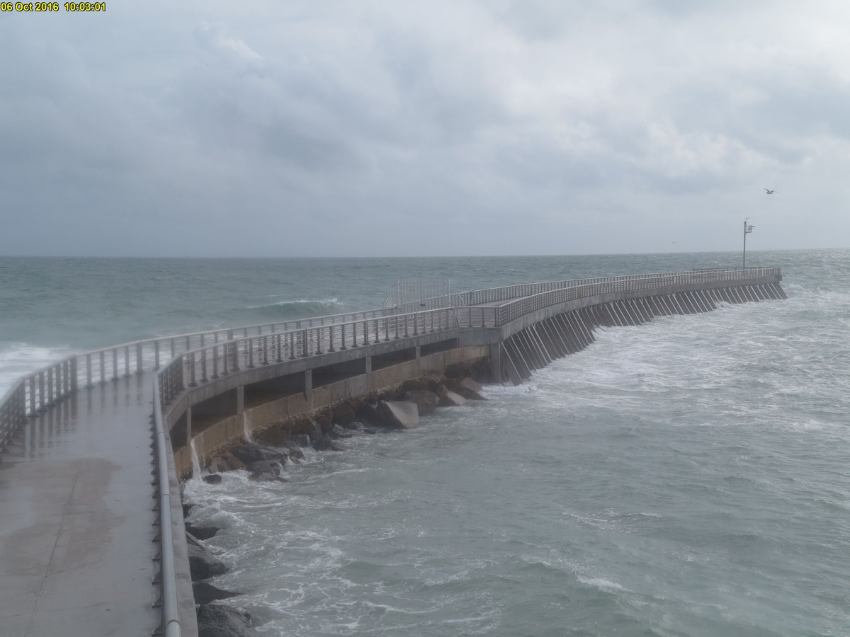 Sebastian Inlet Webcam (Matthew 2016)