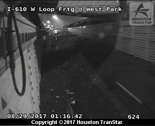 H-610 West Loop at Frontage Road at Westpark (Harvey 2017)