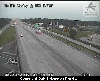 IH-10 Katy at FM 1463 (Harvey 2017)
