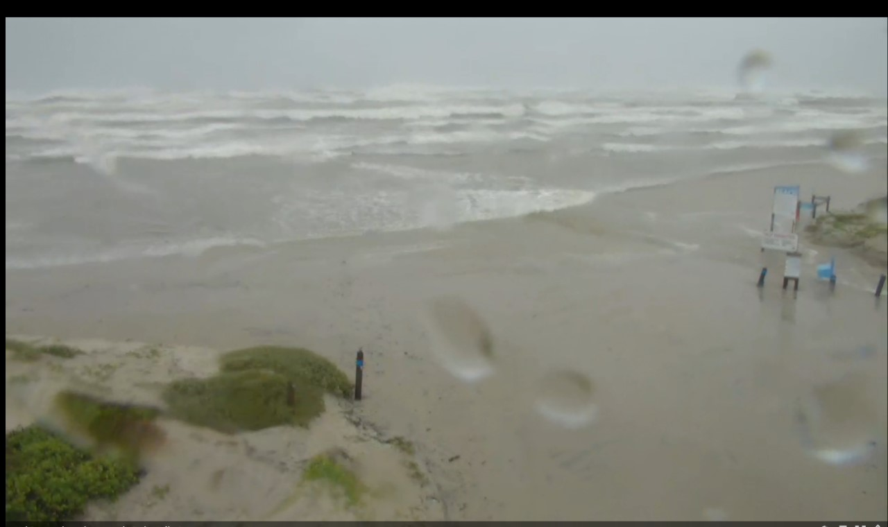Corpus Whitecap Beach Webcam Harvey (2017)