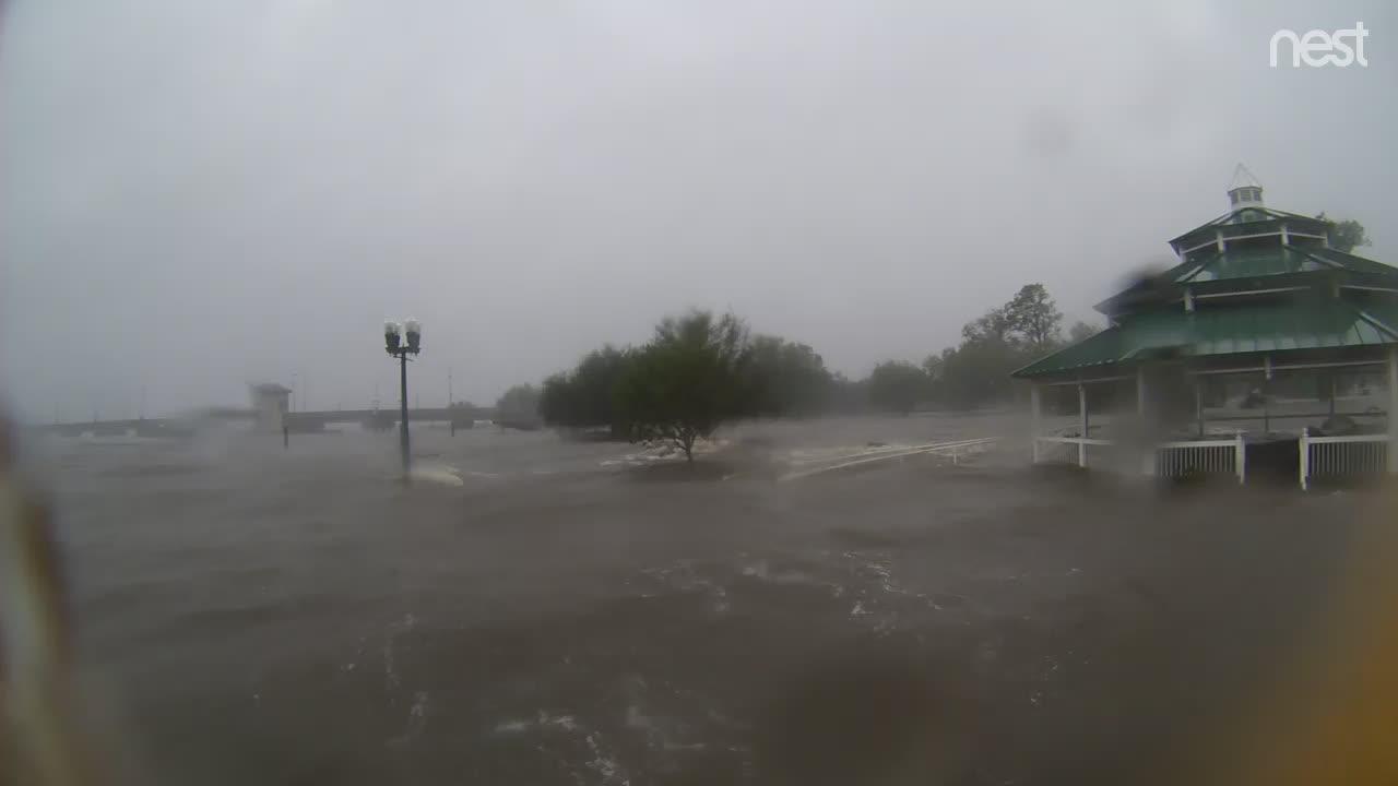 HurricaneTrack New Bern, NC Cam Florence (2018)